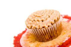 Autumn rhubarb cupcakes...