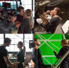 Shailene and theo. The 2nd picture AHHHH!! SHEO