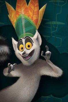 KING JULIAN  I LIKE TO MOVE IT MOVE IT MOVE IT