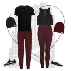 """""""His & Hers"""" by xgracieeee ❤ liked on Polyvore featuring Spineless Classics, Armani Jeans, Topshop, SELECTED, Monki, Vans, Fremada, Neff and hisandhers"""