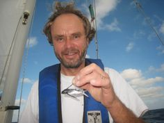 The Joy of Sailing : A fish up his sleeve