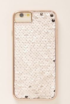 Reversible Sequins iPhone Case by Anthropologie in Gold Size: All, Tech Essentials Tech Gifts, Cool Tech, Holiday Gifts, Iphone Cases, Sequins, Anthropologie Uk, Geeks, Essential Oils, Essentials