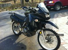 Klr 650 Off Road | 2008 Black Kawasaki Klr 650 Dual Sport - Great On And Off Road Bike ...