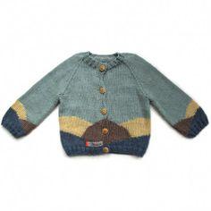 Hanne Green Knitted cardigan - Mormor