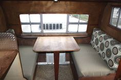 How to make easy vintage trailer dinette cushions