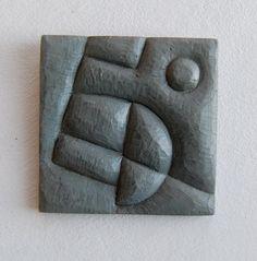 "Tiny Slate Original: HOPE, 2 x 2"", Kerry O. Furlani  $30"