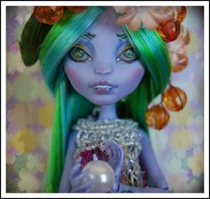 OOAK Custom Monster High MH Art Doll - Sea Monster (Create-a-Monster) | eBay
