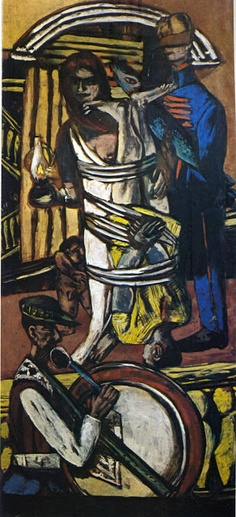 Departure (triptych - Right Panel) Artwork By Max Beckmann Oil Painting & Art Prints On Canvas For Sale Max Beckmann, Kathe Kollwitz, Antoine Bourdelle, Carl Friedrich, Chaim Soutine, Degenerate Art, Expressionist Artists, Abstract Expressionism, Ernst Ludwig Kirchner