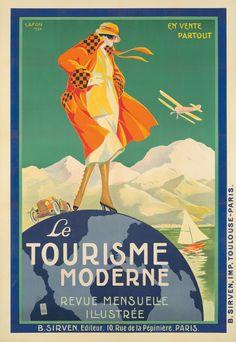 Le Tourisme Moderne. 1920. Paul-Henry Lafon.
