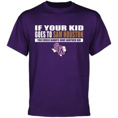 Stephen F Austin Lumberjacks Options T-Shirt - Purple