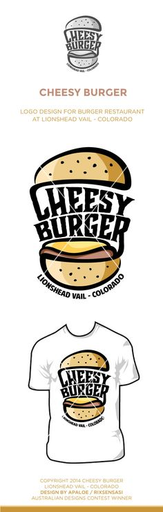 Chessy Burger Restaurant at Lionshead Vail - Colorado - Logo Design Winner
