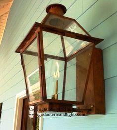 the original charleston lantern carolina lanterns gas. Black Bedroom Furniture Sets. Home Design Ideas