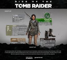 A Breakdown Of Lara's Gear In Rise Of The Tomb Raider - Features - www.GameInformer.com