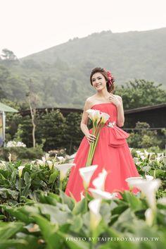 Red dress - TaipeiRoyalWed.tw 台北蘿亞結婚精品 紅色晚禮服
