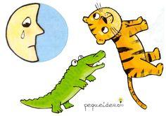 La luna está triste (3) Tigger, Disney Characters, Fictional Characters, Lego, Books, Diy, Ideas, Paper, Alligators