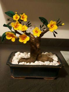 Felt Bonsai  By Carol Sinclair