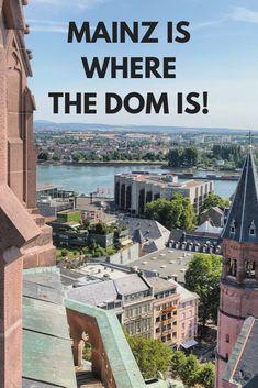 Mainz Germany, Dom, Round Round