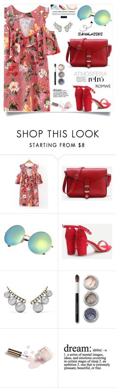 """""""Vintage Love: Retro Sunglasses, Romwe!"""" by samra-bv ❤ liked on Polyvore featuring Jemma Wynne, Bare Escentuals, Chanel, Ciaté, WALL, vintage, polyvorecontest and RetroSunglasses"""