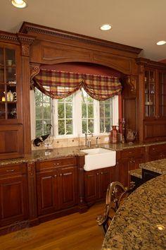 Mediterranean Turquois Amp Gold Kitchen Arch Over Sink