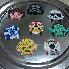 Tsum Tsum Star Wars perler beads by miyumori02