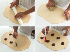 Cerditos rellenos de chocolate