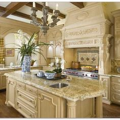 French Country Kitchen Ideas Kitchens Pinterest French Country