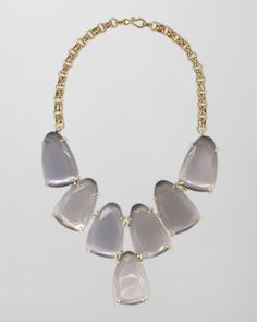 Harlow Necklace, Slate by Kendra Scott at Neiman Marcus.
