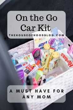 Must Have Easy Mom Hack - Car Kit for on the Go - Travel With Kids, Family Travel, Childrens Tylenol, Kit Cars, Car Kits, Easy, Mom Hacks, Working Moms, Best Mom