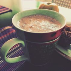 Carmen Leonida: Cappuccino proteico e muffins alle mele.