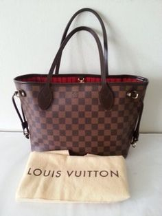 Louis Vuitton Neverfull Damier Ebene Pm Brown Black Tote Bag. Get one of the hottest styles of the season! The Louis Vuitton Neverfull Damier Ebene Pm Brown Black Tote Bag is a top 10 member favorite on Tradesy. Save on yours before they're sold out!