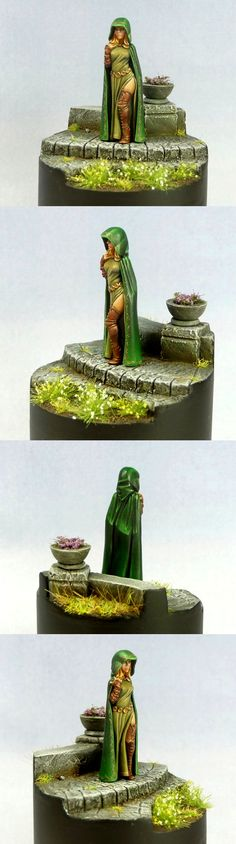 Hasslefree Miniatures' Lenore as painted by Countersunk81 on Cool Mini or Not.