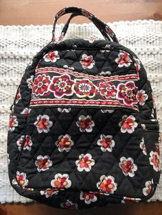8fb39e2601 Vera Bradley Lunch Bunch bag in Pirouette Retired Insulated Zipper Two  Sections
