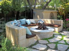 Laurie Callaway Garden Design · Garden Fire PitIn ...