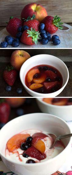 FRUIT COMPOTE & GREEK YOGURT - Erren's Kitchen #delicious #recipe #deserts