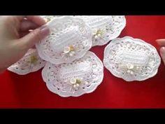 10365 Crochet lavender sachet embroidery set - Her Crochet Crochet Sachet, Crochet Pillow, Crochet Gifts, Crochet Doilies, Crochet Flowers, Crochet Baby Boots, Crochet Baby Clothes, Crochet Home, Knit Crochet