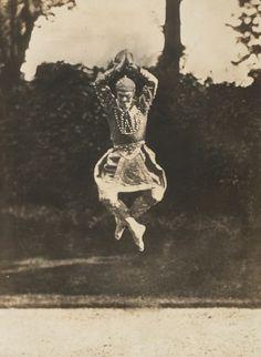"Eugene Druet, ""Vaslav Nijinsky in 'Siamese Dance,'"" 1910. Gelatin silver print."