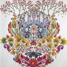 Johanna Basford | Picture by Cheryl Tyler, Outlook, Saskatchewan, Canada | Colouring Gallery