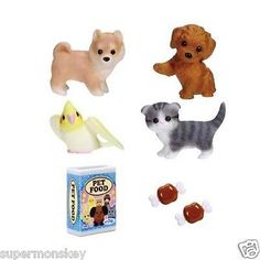 TAKARA-TOMY-JAPAN-LICCA-DOLL-LG-04-CUTE-PET-SET-LA41996