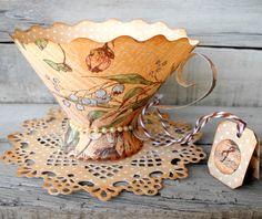 tea cup brenda walton | Crafting ideas from Sizzix UK: April 2013