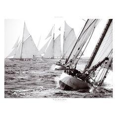 d73a88add3702 Poster philippe plisson Les Voiles de St Tropez - classic yacht  Reproduction Photo