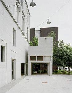 florian beigel + ARU london: youhwadang book hall