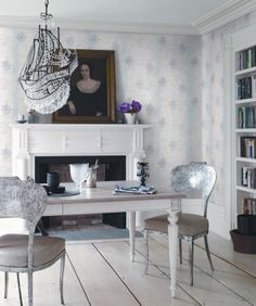 Wallcoverings by Carma, Hudson collection.