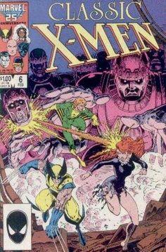x-men comic book covers | Men #6 Comic Books - Covers, Scans, Photos in Classic X-Men Comic ...