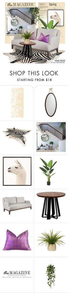 """""""After"""" by taste-for-life ❤ liked on Polyvore featuring interior, interiors, interior design, home, home decor, interior decorating, Timorous Beasties, Kate Spade, Capelli New York and Pottery Barn"""