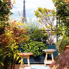 Une terrasse comme une carte postale - Marie Claire Maison