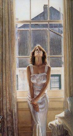 women in the paintings 25 Realistic paintings of women by Steve Hanks