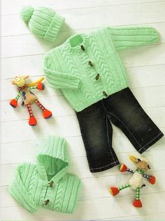 Brand New Emile et Rose Boys Argyle Knitted Top with Trousers and Knitted Hat