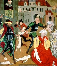 1469, Vienna, no further info. (Slaughter of the Innocents?)