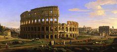 Elke zichzelf respecterende toerist zal dit beeld van Caspar van Wittel herkennen, want je kan geen bezoek aan Rome brengen zonder het Colosseum te zien.