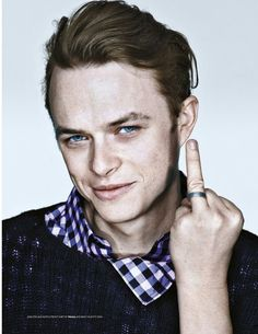 Dane DeHaan << kinda like he's rubbing it in our faces that we can't have him